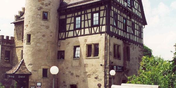 Blick auf Schloss Höfingen