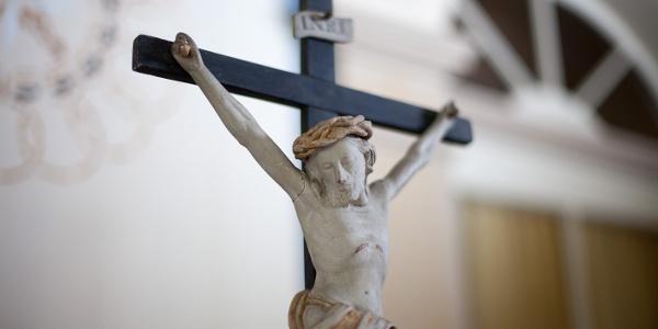 Kruzifix - St. Marien - Tröbsdorf