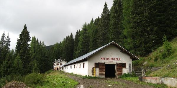 Gastfreundlich, die Malga Antola