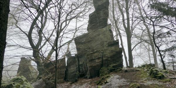 """Der """"Spitze Stein"""" auf dem Altenstein (Taunus)"""