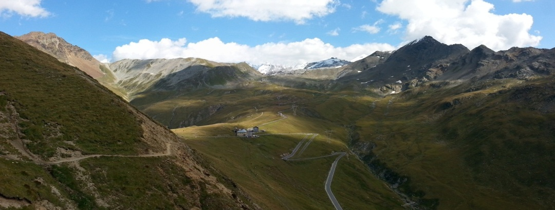 Aufstieg zur Boccetta di Forcola