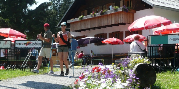 Naturfreunde-Hütte: Emser Hütte Hohenems