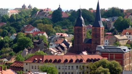 Rote Spitzen- Vom Schloss aus - Altenurg