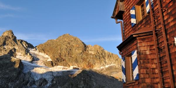 Saarbrücker Hütte, Blick auf Gr. Seehorn