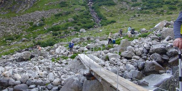 Brücke über den Floitenbach