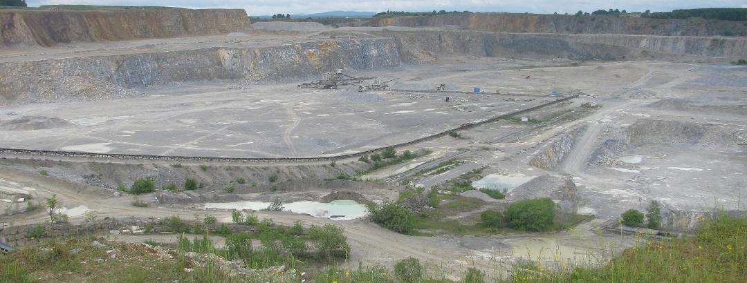 Kalksteintagebau Elbingerode