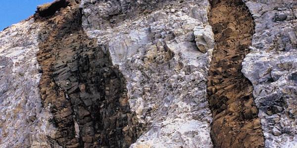 Geological trail - rocks