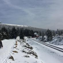 Strecke der brockenbahn
