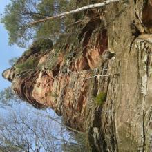 Der erste Fels