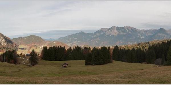 Blick von der Alpe Dornach