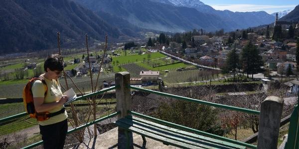 Panorama su Roncegno Terme