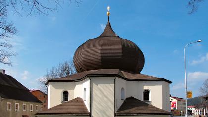 Kirche in Železná Ruda