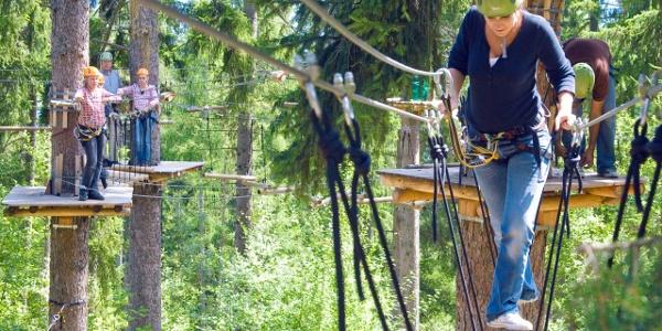 Le parc d'aventure Fun Forest