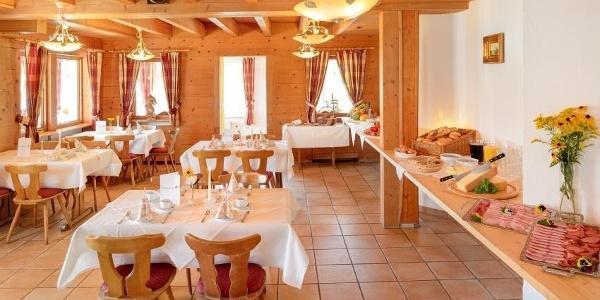 Alpengasthof Hörnlepass Restaurant Frühstück