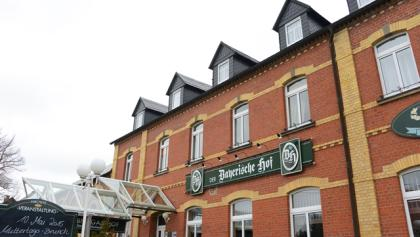 Außenansicht Hotel Bayerischer Hof Grünbach