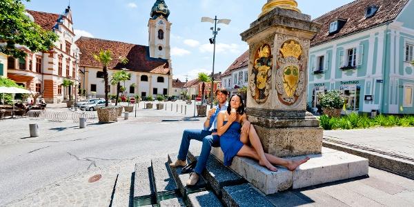 In der Altstadt von Hartberg