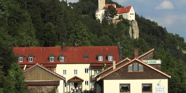Hotel-Gasthof Zur Krone in Riedenburg-Prunn im Altmühltal
