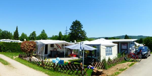 Campingplatz Wiesensee in Hemsbach