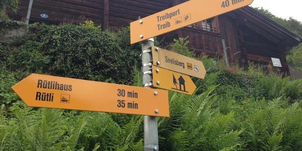 Der Waldstätterweg ist neu signalsisiert