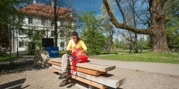 Start- und Willkommensplatz Kißlegg - am Schloss