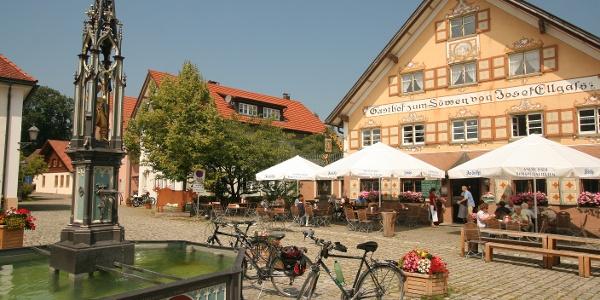 Eglofs Dorfplatz
