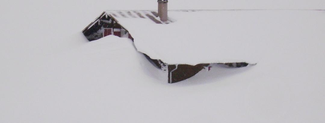 Die Schwarzwasserhütte als Winterziel