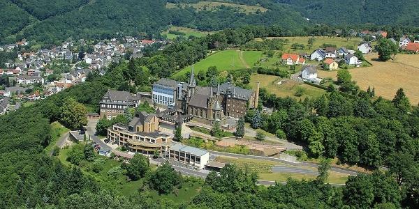 Luftaufnahme Waldbreitbacher Klosterberg