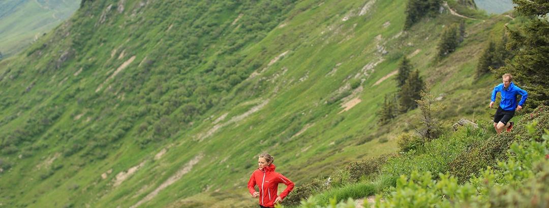 In bis zu 2500 m Höhe können sich Trailrunner austoben