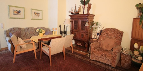 Pension Fisch: Lounge