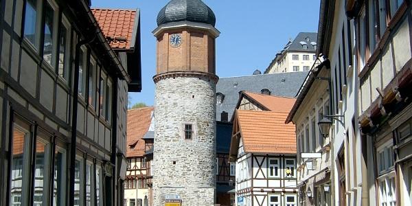 Seigerturm von Süden - Stolberg