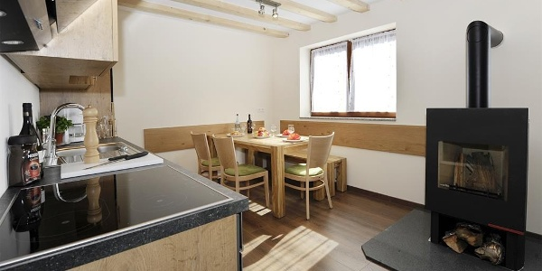 Küche Apartment 1