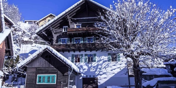 Haus Winteransicht