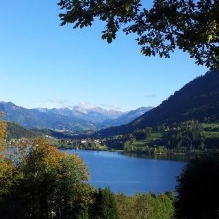 View from Alpe Schönesreuth