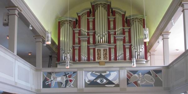 Innenansicht St. Lambertikirche in Bergen