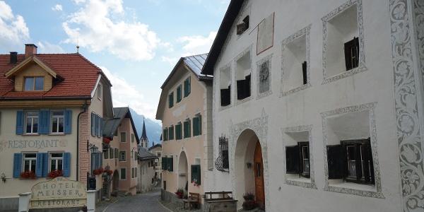 Guarda, die Heimat von Schellen-Ursli