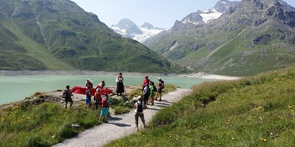 rechte Uferseite Silvrettasee