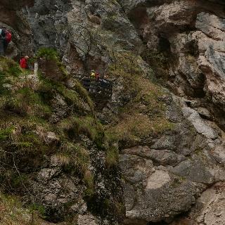Aussichtspunkt Mlinarice-Klamm