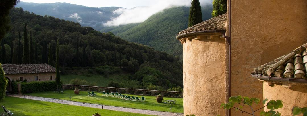 Die Abtei San Pietro in Valle in Umbrien