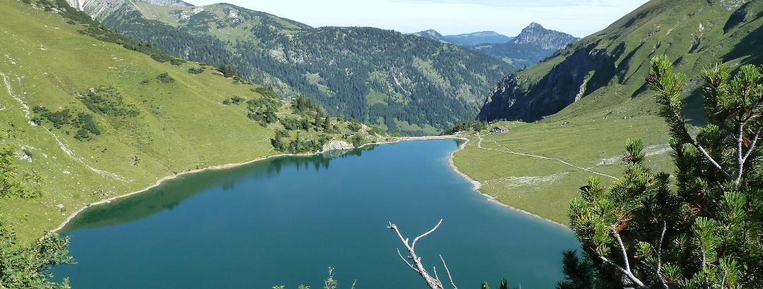 Der Traualpsee in den Allgäuer Alpen