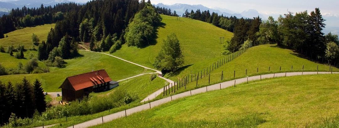 Die Bergwelt in Vorarlberg