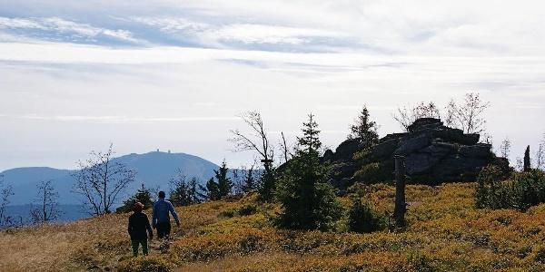 Steig zum Zwercheck-Gipfel