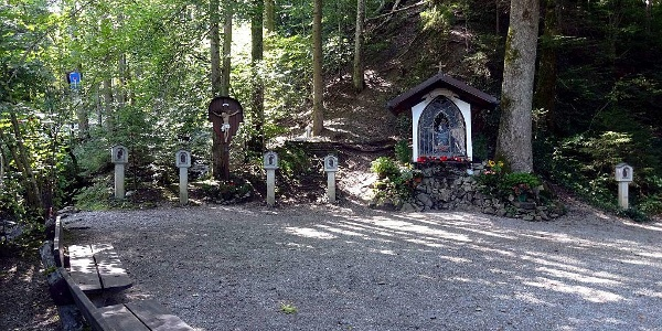 Kapelle Mariabrunn am Ausgangspunkt