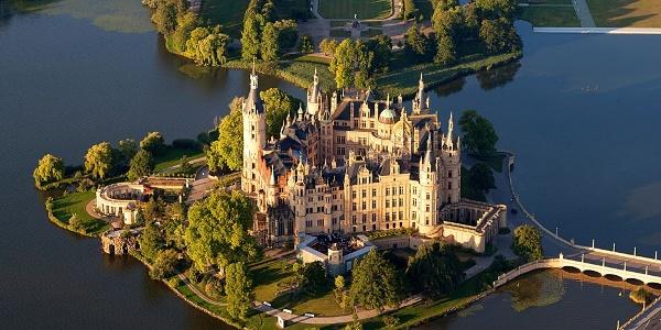Schleifenroute - Schwerin Schloss