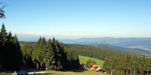 Aussicht vom Aufstieg von Hinterwies zum Pröller