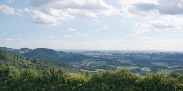 Fernsicht von Hagnberg nach Süden