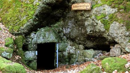 Mühlsteinhöhle Schwedenfeste