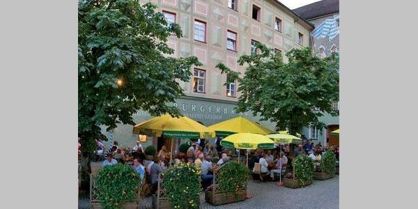 Bürgerbräu Biergarten