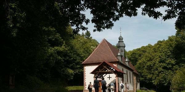 Kapellenpilgerweg mit Kolmerbergkapelle in Dörrenbach
