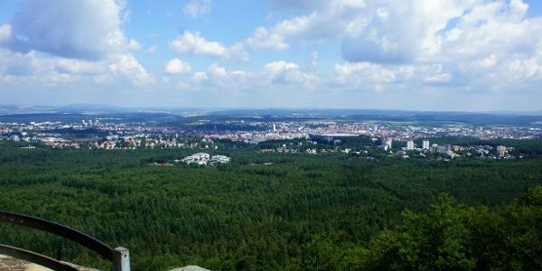 Aussicht vom Humbergturm