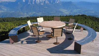 Runder Tisch am Panoramaweg
